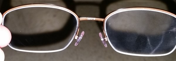 Smudged And Streaked Glasses Fixed Eye Care